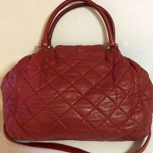 Michael Kors Bags - SOLD! MICHAEL KORS Large  Quilted Leather FULTON
